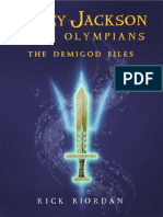 Percy Jackson - The Demigod Files