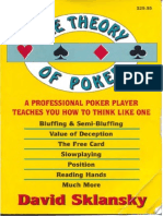 David Sklansky - Theory of Poker