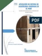 APLICACIÓN DE SISTEMA DE ALBAÑILERIA CONFINADA EN EL PERÚ.docx