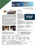 CESA Languages Abroad - Lisbon 2014