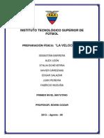 LA VELOCIDAD.docx