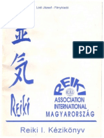 Lödi József- Reiki I. Kézikönyv