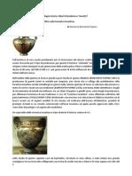 Giovanna Bonivento Pupino, La bronzistica arcaica e la Magna Grecia dibattito sugli ateliers.