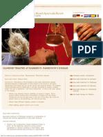 Illnesses Treated at Barberyn_ Parkinson's Disease