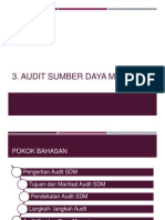 3. PM. Audit SDM
