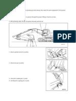 Komatsu PC 300 & PC 210 Lube Chart Points