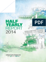 Half Yearly Report 2014