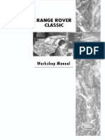 Range Rover Classic Workshop Manual