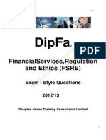 DipFA - Sample Papers