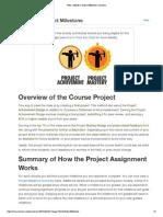 Project Milestone - Module 1