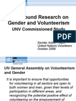 Gender and Volunteerism Research, Mae Chao, UNV