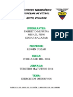 Ejercicios Ofensivos Grupo C Brasil 2014.docx