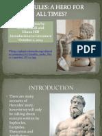 HERCULES Presentazione