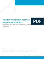 AirWatch Android SDK Guide