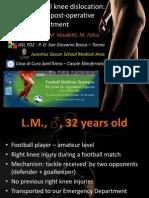 F Saccia a Case of Medial Knee Dislocation