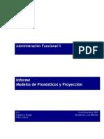 Informe Metodos de pronosticos
