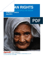 HUMAN RIGHTS OF OLDER PEOPLE IN INDIA A REALITY CHECK July 2014