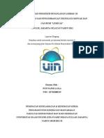 Gambaran Prosedur Penanganan Limbah Di Pusat Penelitian Dan Pengembangan Teknologi Minyak Dan Gas Bumi