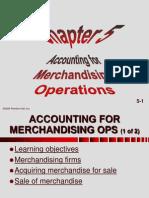 Acc for Merchandising Chap05