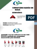 Seminario Autodesk AutoCAD 2014 modificado Gabrielle.pptx