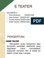 Kelompok 2 Home Teater