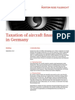 NORTONROSE - Taxation of Airfin in D