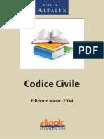 Codice Civile, Ed. Marzo 2014
