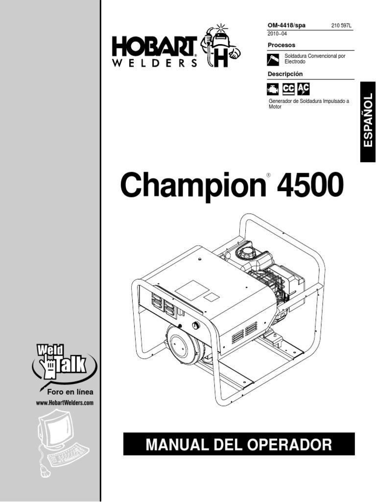 Hobart Champion 4500 Manual.pdf