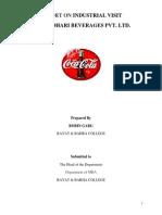 i.v Report of Coca Cola