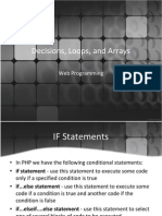 Pert-3-Decisions-Loops-And-Arrays.ppt