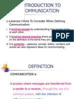 Defination Communication