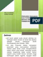 Klp 8 (Pengaruh Keasaman Dan Potensial Reduksi Terhadap Pembentukan Tanah)