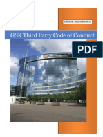 GSK Third Party Code of Conduct