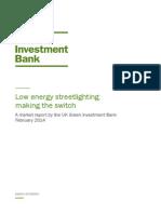 Gib Market Report Low Energy Streetlighting Feb 2014 (1)