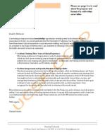 Dentistry Associate Cover Letter 1