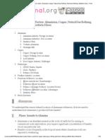 6. [Geography] Location Factors_ Aluminium, Copper, Natural Gas Refining, Petroleum Refining, Synthetic Fibers » Print