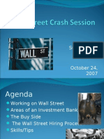 Wall Street Crash Session
