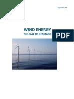 Wind Energy - The Case of Denmark