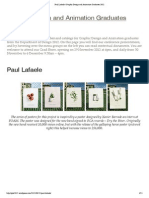 Paul Lafaele _ Graphic Design and Animation Graduates 2012