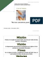 Plan de Trabajo del Buen Samaritano Union 2011-2