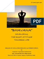 Bhavana - Essays on Yoga Psychology