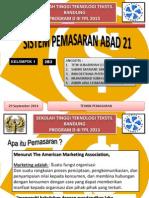 Presentase Pemasaran Abad 21