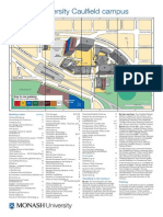 Caulfield Campus Map