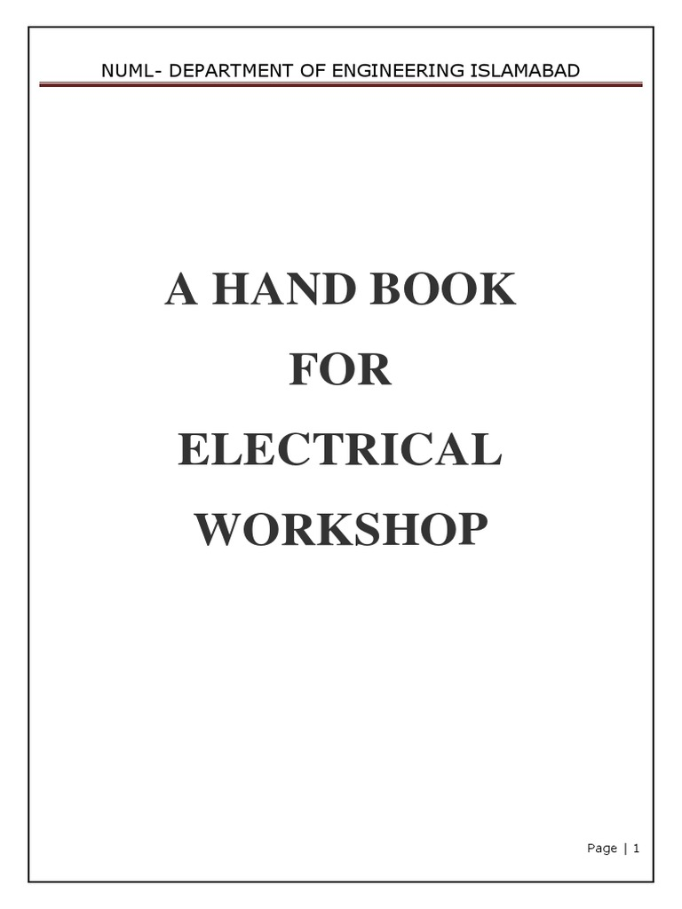 Workshop practice lab mannual fuse electrical electrical workshop practice lab mannual fuse electrical electrical resistance and conductance asfbconference2016 Image collections