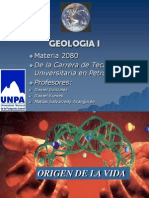 Geologia I Clase del origen de la vida.ppt