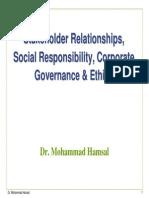 Governance Ethics Social Responsibility