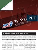 Flag Football Offensive Football Playbook