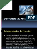"""Cour sur l""""Hypertension arterielle"""