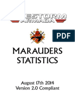 Firestorm Armada - Marauders and Mercenaries 17-08-2014
