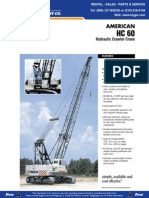 American Crane - HC 60 - 54 MT